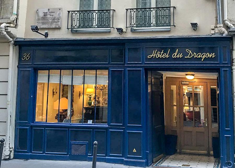 Hotel du Dragon Parijs Saint Germain des Prés