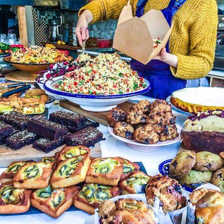 IMA: vegetarisch lunchen aan het Canal Saint Martin