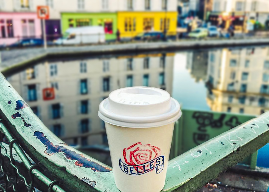 Ten Belles Koffie Canal Saint Martin Parijs 10e arrondissement