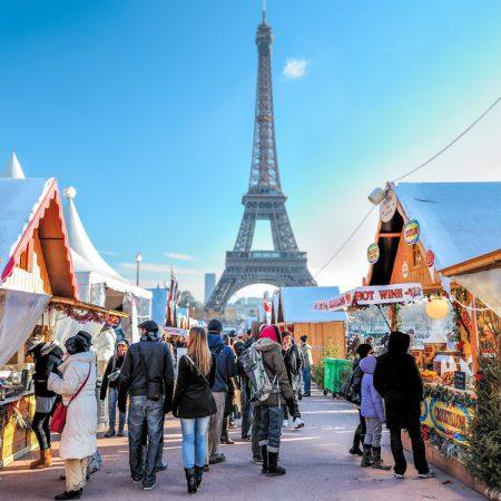 Kerstmarkten Parijs 2018