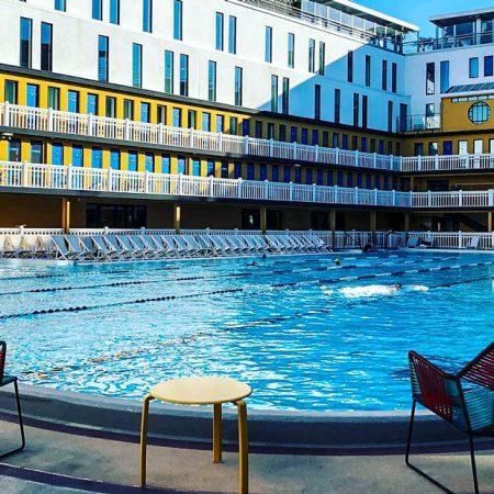 Hôtel et piscine 'Molitor'