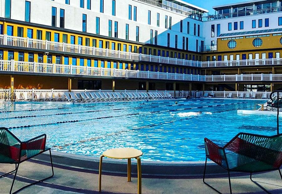 Zwembad Parijs Hotel Molitor