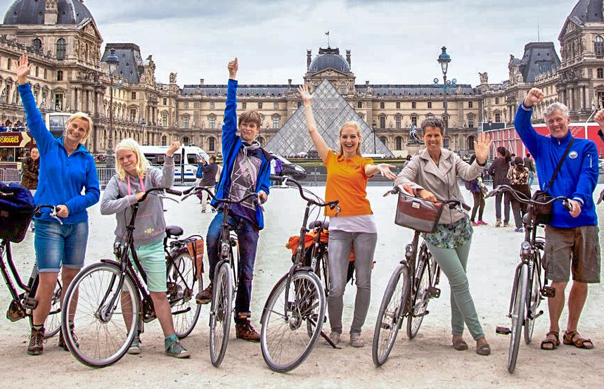 Fietstour in Parijs met BajaBikes