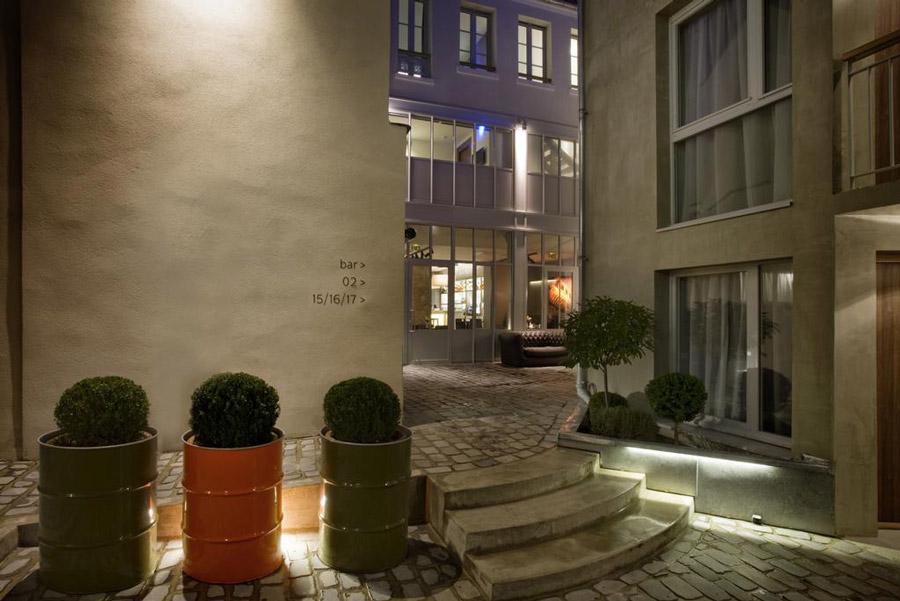 Hotel Jules & Jim Parijs overnachting tip 3e arrondissement Marais