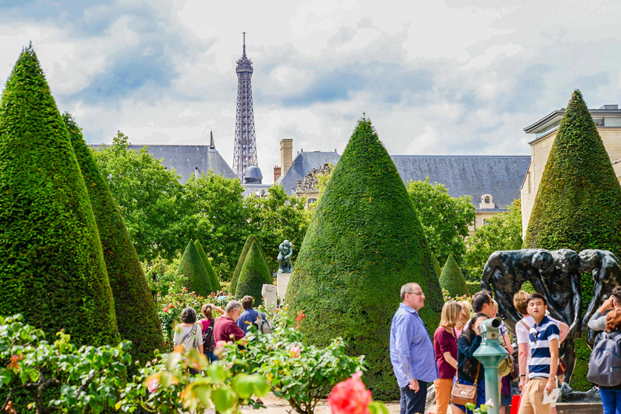 Rodin museum Parijs