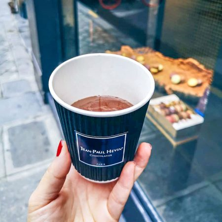 Waar drink je een echte Franse warme chocolademelk?