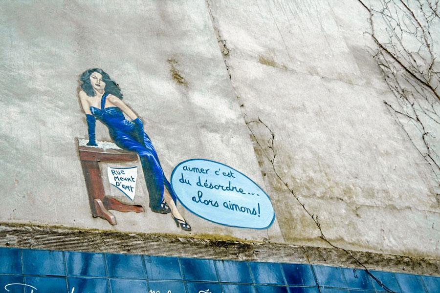 Liefdesmuur Parijs Muur van de Liefde Montmartre
