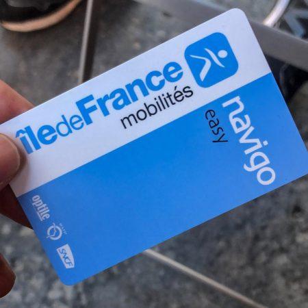 De OV-chipkaart van Parijs: Navigo Easy