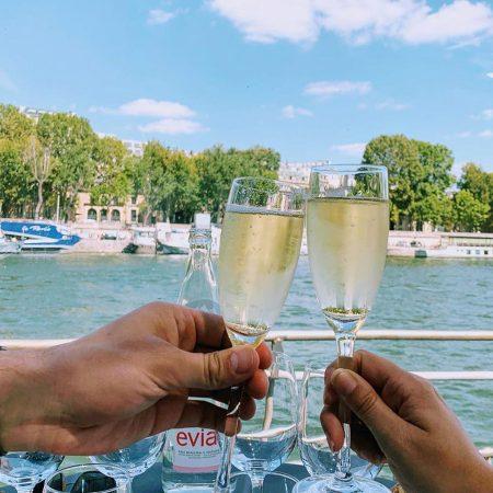 Rondvaart over de Seine inclusief lunch