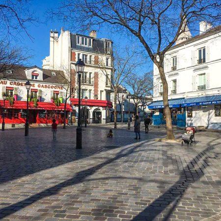 Montmartre in tijden van Corona