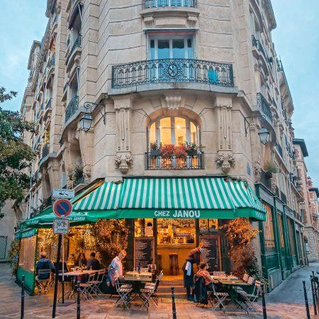Fijn restaurant in de Marais: Chez Janou