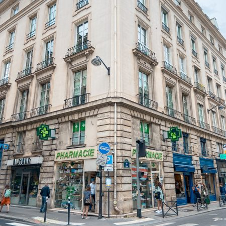 Corona in Parijs