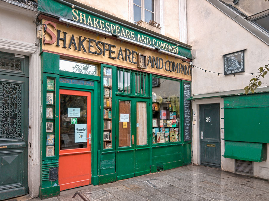 shakespeare and company parijs